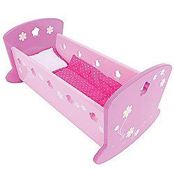 Bigjigs Toys BJ391 Daisy Doll Cradle