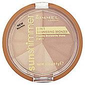 Rimmel 3 In 1 Shimmering Brnzrgold Princess