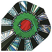 Harrows Hologram Bullseye 1617 Dart Flights Standard Pack of 10