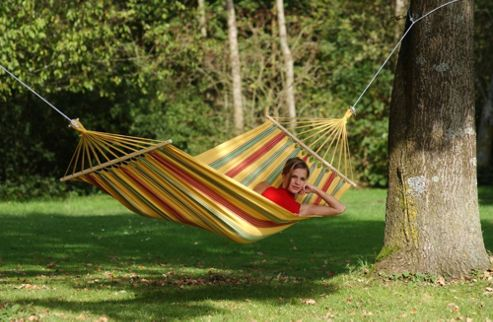 Amazonas Elltex Products Aruba Vanilla Hammocks in Yellow