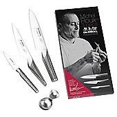 Michel Roux Jr for Global Knives 3 Piece Knife Gift Set