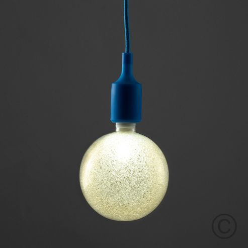 light fitting dark blue from our pendant lighting range tesco