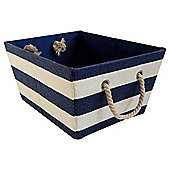 Tesco Nautical Stripe Storage Basket