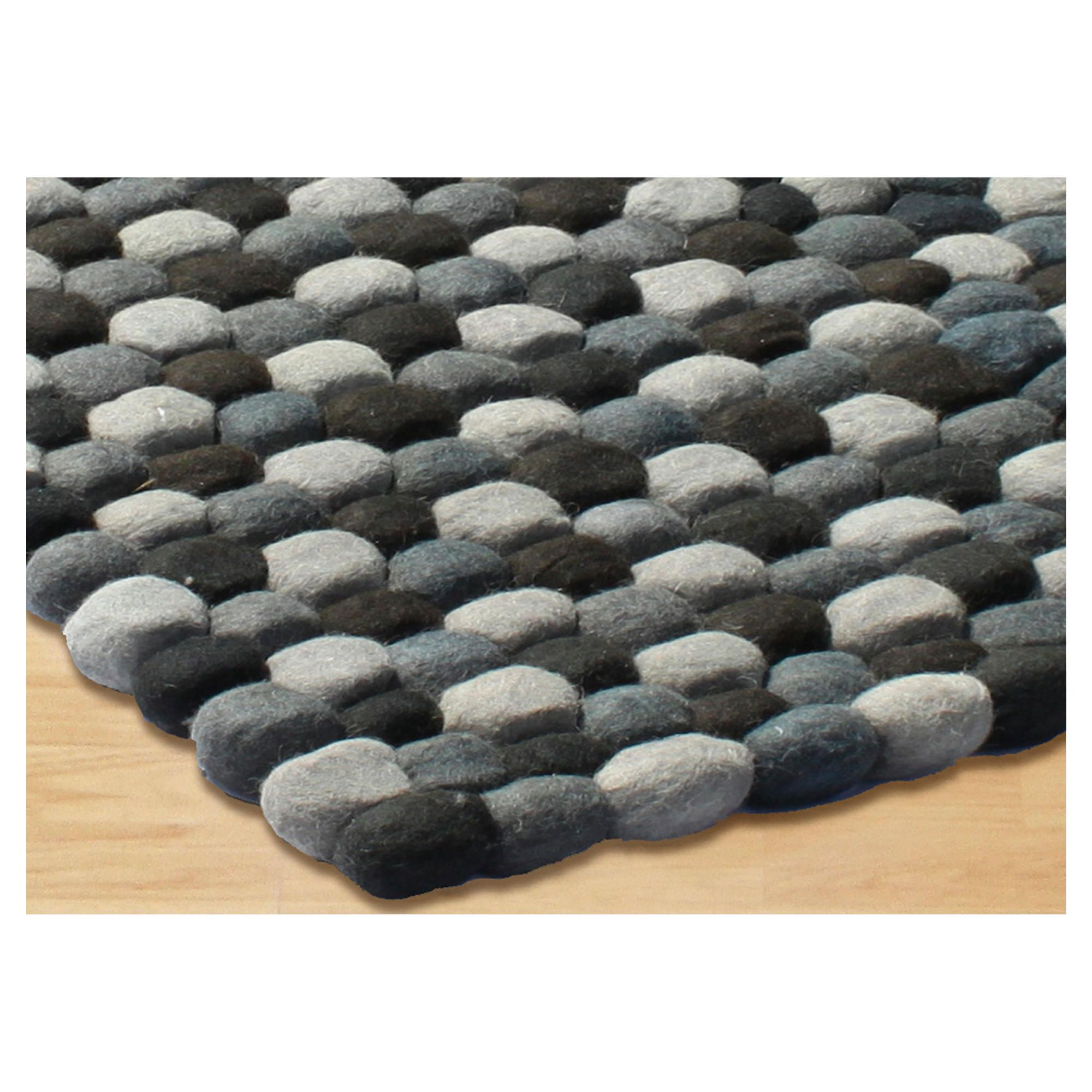 The Ultimate Rug co. Rocks Rug Grey120x170cm at Tesco Direct