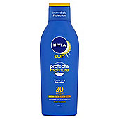 NIVEA SUN Protect & Moisture Moisturising Sun Lotion 30 High 200ml'