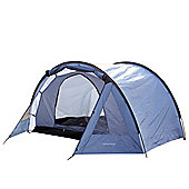 North Gear Camping Exodus Waterproof 4 Man Tent Blue