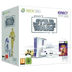 Xbox 360 320GB and Kinect Star Wars Ltd Edition
