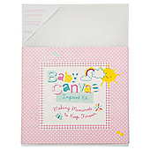 Baby Girl Canvas Imprint Kit