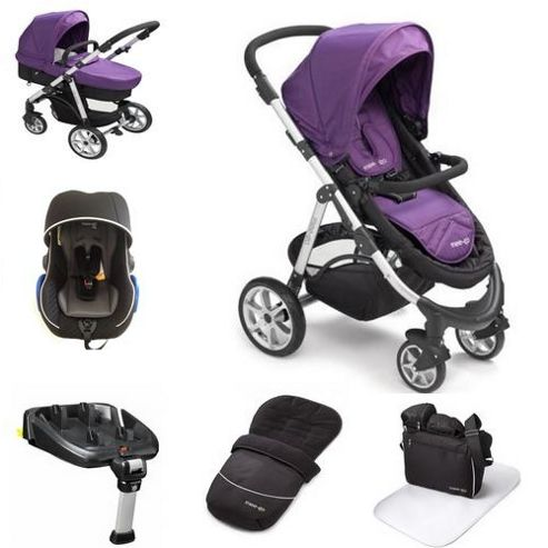 Buy Mee Go Pramette Travel System With Isofix Base