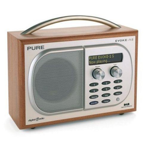 Luxury portable DAB digital radio