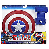 Marvel Captain America Magnetic Shield and Gauntlet Playset