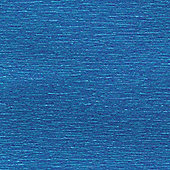 Canson Metallic Crepe Paper 50cm x 250cm Blue