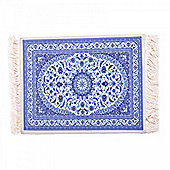 Authentic Look Flying Carpet Design Mousemat in Blue