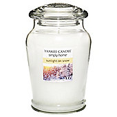 Yankee Candle Lge Jar Sunlight On Snow