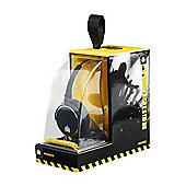 Ministry of Sound 005 Headphones - Black with Yellow