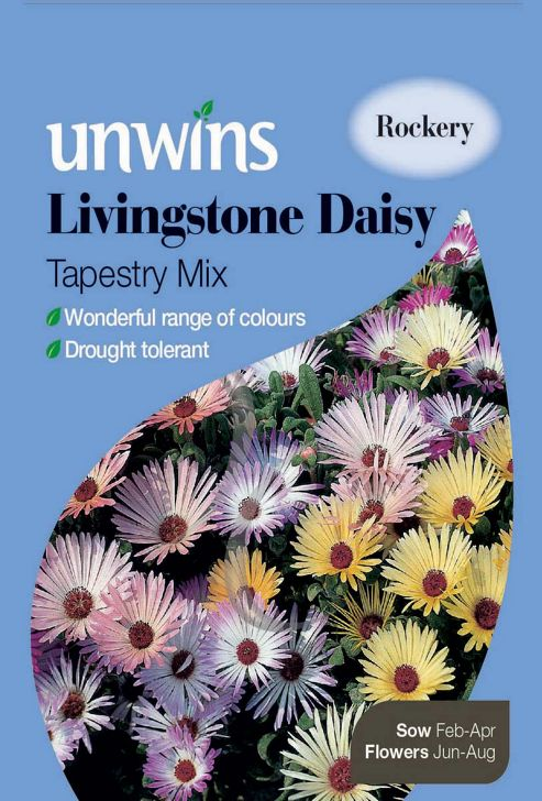 Livingstone Daisy Tapestry Mixed