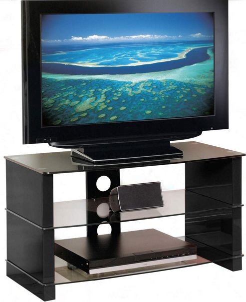 Peerless Manhattan 800 Black TV Stand