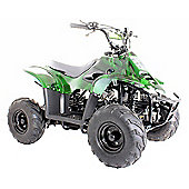 110cc Thunder Cat Quad Bike Green Camo