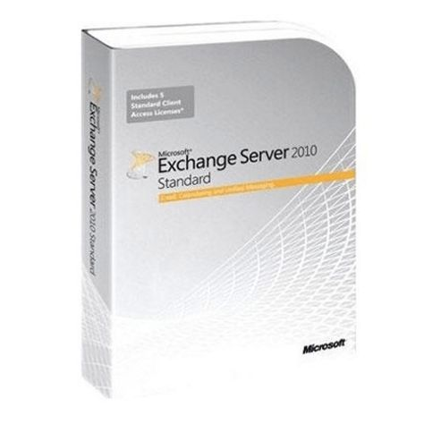 Exchange Server 2010, Standard, EDU, 5 User CAL, EN