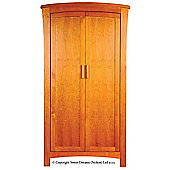 Sweet Dreams Felix 2 Door Wardrobe - Antique