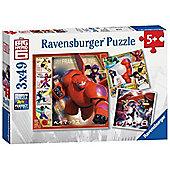 Big Hero 6 - 3 x 49pc Puzzle