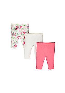 Mothercare Newborn's Leggings - 3 Pack Size 6-9 months
