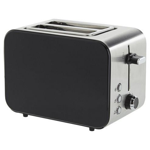 Buy Tesco 2 Slice Stainless Toaster - Black from our Toasters range ...