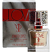 Jennifer Lopez JLove Eau de Parfum (EDP) 30ml Spray For Women