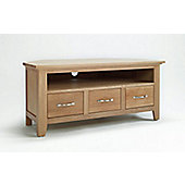 Ametis Sherwood Oak Corner TV Stand