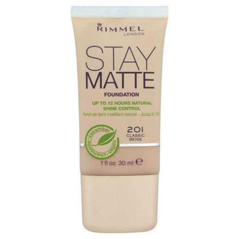 Rimmel Stay Matte Foundation Classic Beige 201