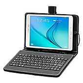 Black Keyboard Case For Samsung Galaxy Tab A