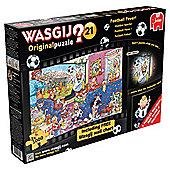 WasgijFootball 2x1000piecePuzzl FootballFever