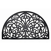Dandy Wrought Iron Half-Moon Mat - 75cm x 45cm