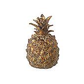 Parlane Gold Pineapple Ornament - 11.5 x 7.5cm