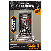 Halloween Scene Setters Long Hallway Add-On - 5ft (2pk)