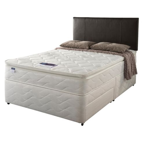 Silentnight Miracoil Pillowtop Fiji King Non Storage Divan set