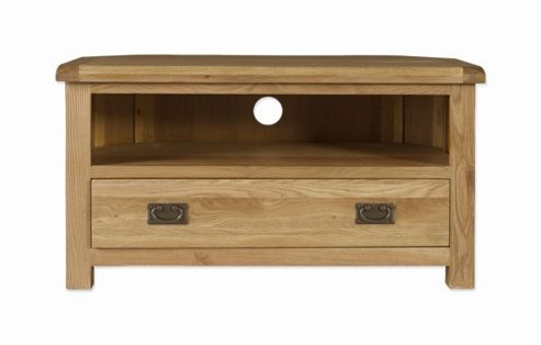 Elements Woodville Corner TV Stand
