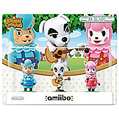 amiibo Animal Crossing 3 Pack (Reese + K.K Slider + Cyrus)