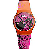 Paul's Boutique Betsy Ladies Rubber Watch PA016ORPK