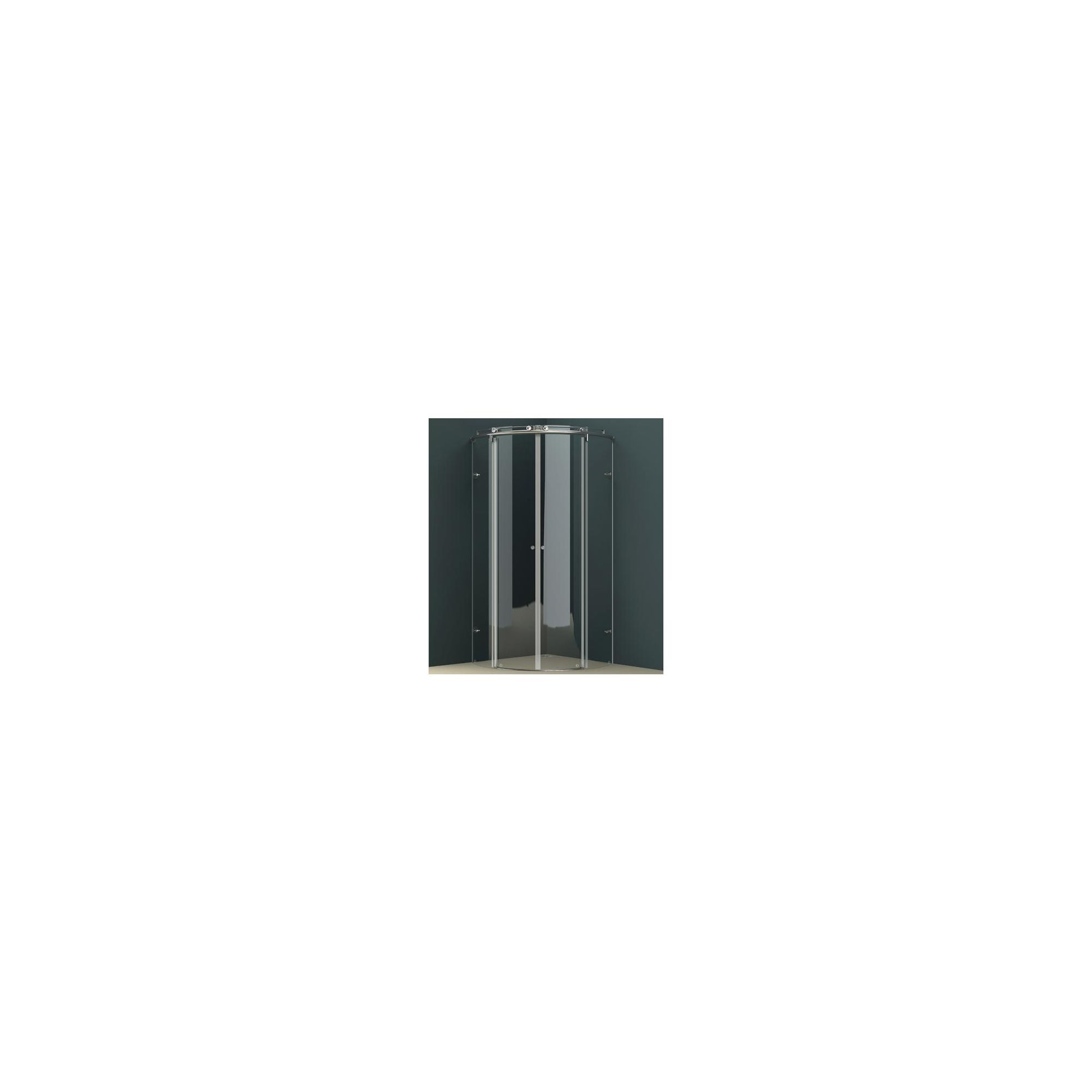 Vessini K Series Quadrant Wet Room Shower Door, 1000mm x 1000mm, excluding Tray, 10mm Glass at Tesco Direct