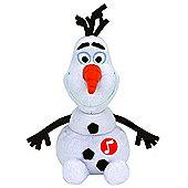 TY Beanie Buddy Olaf Sparkle with Sound
