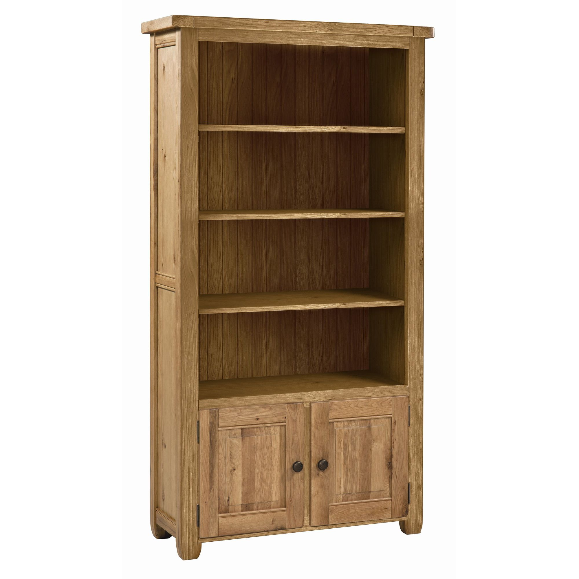 Alterton Furniture Cherry Creek Oak Large Bookcase at Tesco Direct