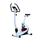 Homcom 8 Level Magnetic Exercise Bicycle Cardio Fitness Machine w/ LCD