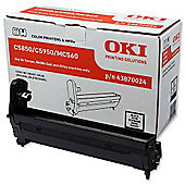 OKI C5850 Black Image Drum (Yield 20000 Pages)