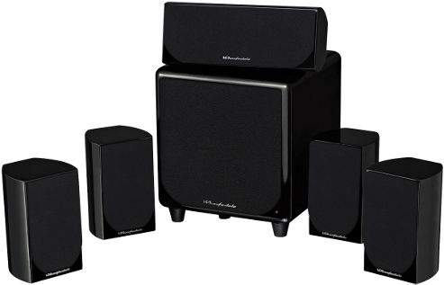 WHARFEDALE DX1 HCP 5.1 HOME CINEMA SPEAKER SYSTEM (GLOSS BLACK)