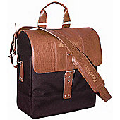 FastRider inchClassicinch Charley Shopper Bag in Black/Brown
