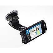 Works With Nokia Clamp Cradle, Flexible Arm and Suction Cup for Universal Smartphone Devices - Black
