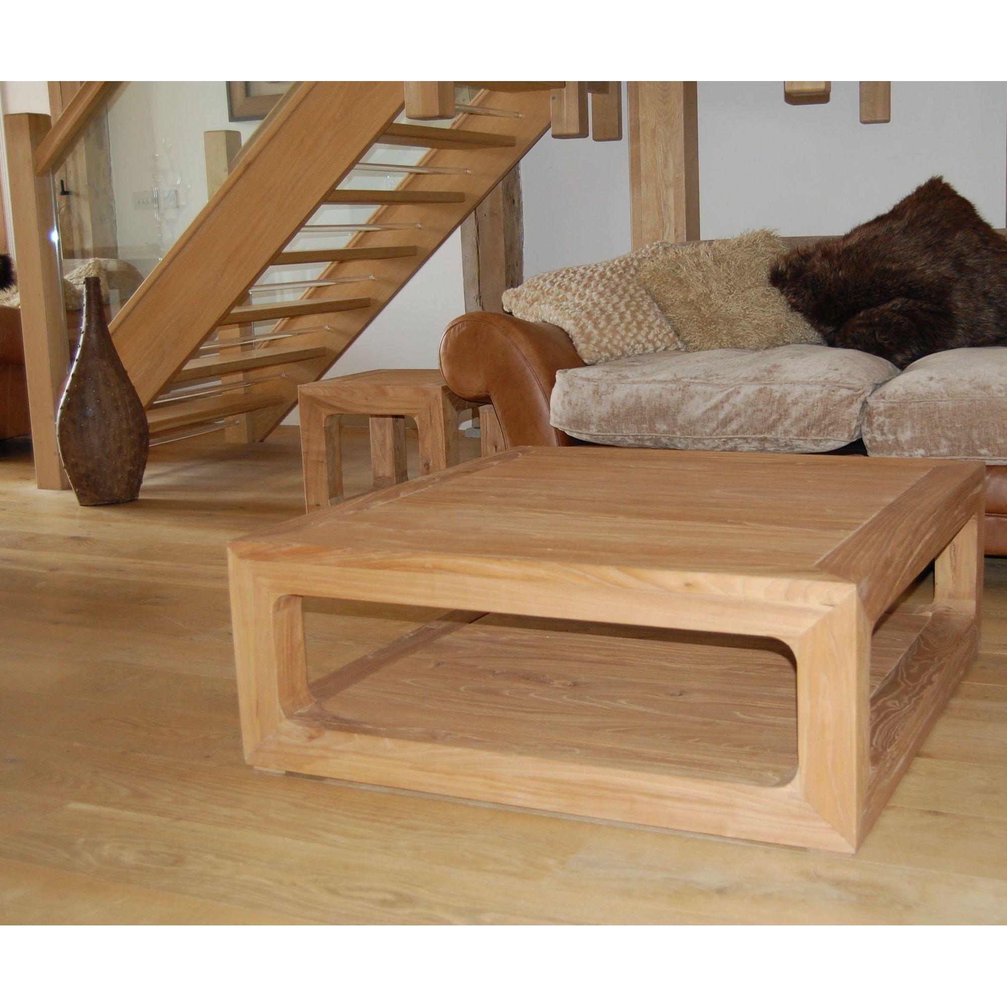 Katigi Designs Reclaimed Wooden Coffee Table at Tesco Direct