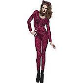 Leopard Catsuit (Pink)