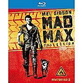 Mad Max Trilogy Blu-ray